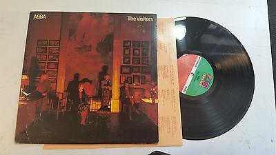 ABBA THE VISITORS ATLANTIC SD19332 US 1981 VINYL LP rare usa w/lyric inr orig NM