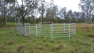 Round yard and ramp Gympie Gympie Area Preview