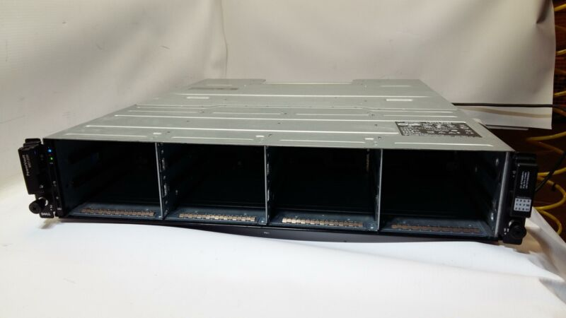 Dell PowerVault MD1200 12-Bay Storage Array w/ 2xMD12 SAS Controller see_