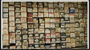 Radio old type tubes Lot of 1000 approx.