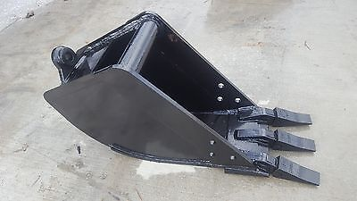 New 12 Tag Coupler Style Excavator Bucket Fits 9-12k Machines - 1.25 Pin