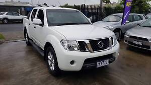 2012 Nissan Navara ST Duel Cab Ute TURBO DIESEL AUTO VERY LOW KMS Williamstown North Hobsons Bay Area Preview