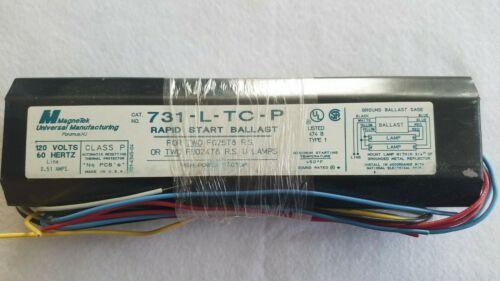 NEW Magnetek 731-L-TC-P Rapid Start Ballast for 2 F25T8 Fluorescent Lamps Bulbs