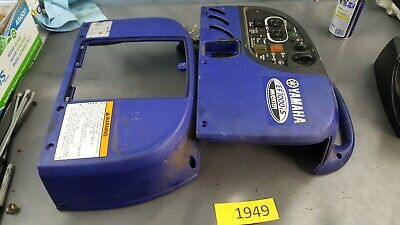 Yamaha Inverter Ef1000is Case Outer Plastic Assembly Blue