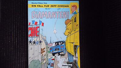 Jeff Jordan Nr 13, Diamanten  Carlsen 1. Aufl 1990