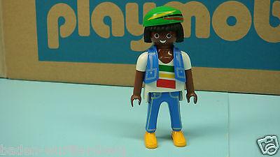 Playmobil new series Jamaican geobra figure klicky made in Germany toy 175