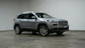 2017 Jeep Cherokee KL MY17 Limited Billet Silver 9 Speed Sports Automatic Wagon Welshpool Canning Area Preview
