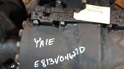 Yale Forklift Differential And Transmission For Model Gdp080lj