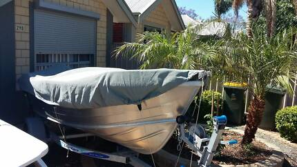 2016 Stacer 399 Seasprite 3.99 Metre Fishing Boat Tinnie