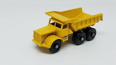 Lesney Matchbox #6 #6c Euclid Dump Truck