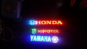 Honda Yamaha monster Hoonigan led lights