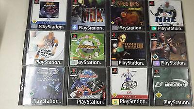 12x PS1 Spielepaket bis USK 16 - Sony Playstation 1 online kaufen