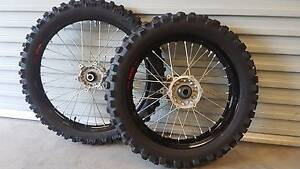 Yamaha WR450F 2012 Wheel Set Mudgee Mudgee Area Preview