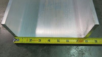 8 X 3 X .190 6061 Aluminum Association U Channel 12 Length Brand New