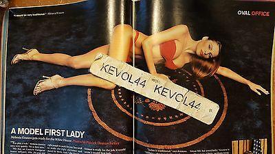 MELANIA KNAUSS DONALD TRUMP Talk Mag 2000 BIKINI MODEL FIRST LADY 26 YRS OLD!