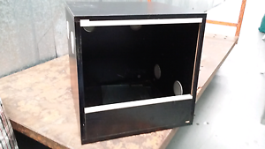 Small wooden reptile tank- urgent sale Five Dock Canada Bay Area Preview