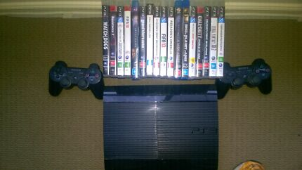 """Ps3 slim 120gb + Sony bravia lcd 40"""" barely used for sale Greenvale Hume Area Preview"""