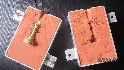 2 kg wasserfreier Formsand mit Sandformkasten 150/100mm