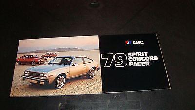 1979 American Motors Spirit / Concord / Pacer Color Brochure NM Condition