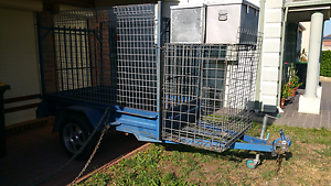 7x4 caged trailer galvanized sides suit for camping or market Prestons Liverpool Area Preview