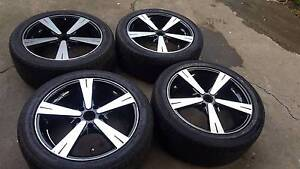"Holden CV8 18"" rims and tyres vl vn vp vr vs vt vx vy vz Reservoir Darebin Area Preview"