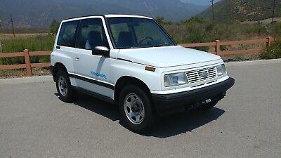 1995 Geo Tracker 4X4  Low Mileage Rustfree 4Wd Flat Towable Suv  Like Suzuki Vitara Samurai