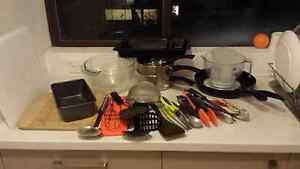 Kitchen utensils, pots, pans, cutlery & mixing bowls for sale Bondi Eastern Suburbs Preview