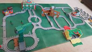 Thomas the Tank engine TAKE N PLAY tracks, stations, Cranky+more Mount Lewis Bankstown Area Preview
