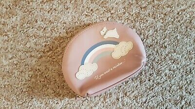 Radley Rainbow Small Dusty Pink Coin Purse NeW