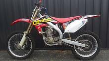 HONDA CRF450R 2007 and 2004 Longford Northern Midlands Preview