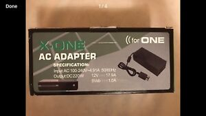 Brand new x-one AC adapter