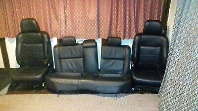 2003 Subaru Forester 2.0 XT UK Spec Full set of black leather seats