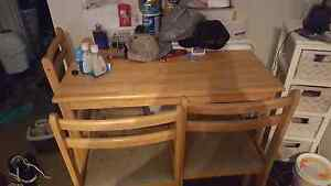 4 seater dining table Mortdale Hurstville Area Preview