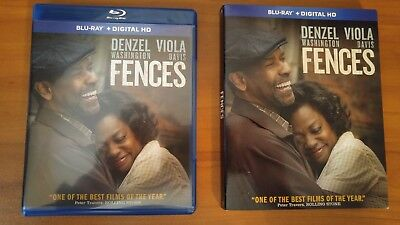 Fences  Blu Ray  2017  Denzel Washington  Viola Davis    No Digital