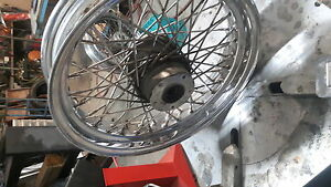 HARLEY SPOKED RIMS $150