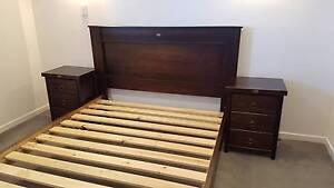 Rustic Country Queen Size Bed Set Perth Perth City Area Preview