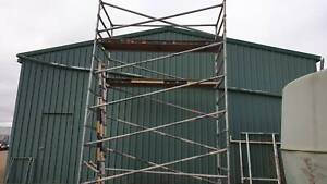 Scaffold Double Width *Sold pending Pick up*