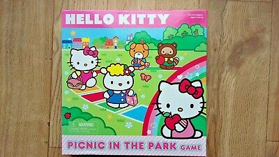 Hello Kitty Picnic In The Park Board Game Kids Family Fun 2 - 4 Players age 3+ for sale  Shipping to Nigeria