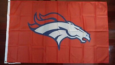 Denver Broncos 3x5 Flag. US seller. Free shipping within the US