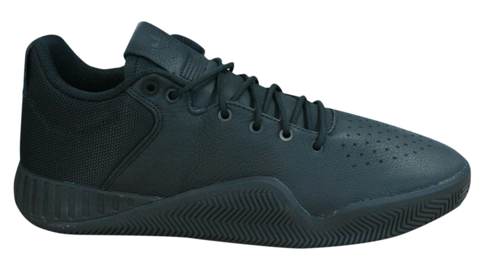 timeless design 43836 6bb79 Details about Adidas Originals Tubular Instinct Low Lace Up Mens Trainers  Black BY3157 D23