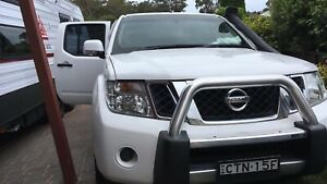 2014 Nissan Navara St (4x4) 5 Sp Automatic Dual Cab P/up