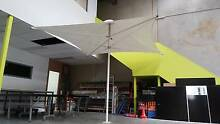 Restored Frame, New PVC Canopy, 3.2 x 3.2m Commercial Umbrella(s) North Melbourne Melbourne City Preview