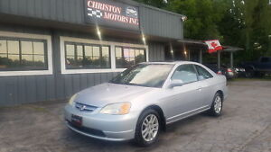 2002 Honda CIVIC SI CERTIFIED ETESTED ONLY  $1999+taxes