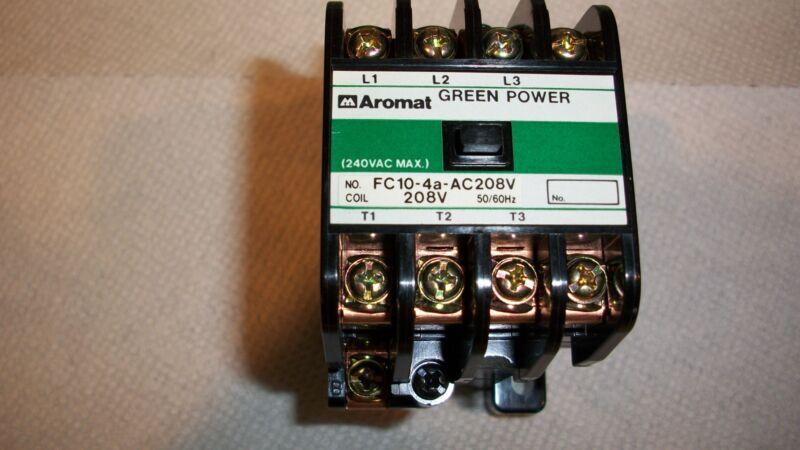 Matsushita Electric Works Aromat FC10-4a-AC 208V.Contactor.