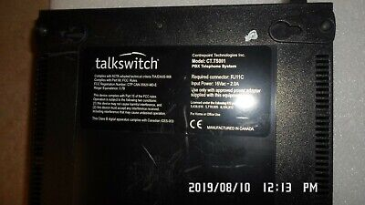 Talkswitch Ct.ts001 Pbx Telephone System With Ac Adapter