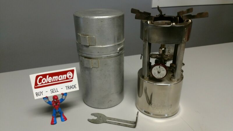 Coleman Stove 530 With Cook Kit & Wrench A-1947