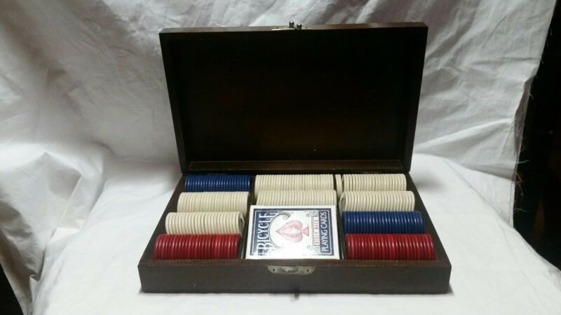 Vintage Pattburg Novelty Poker Set