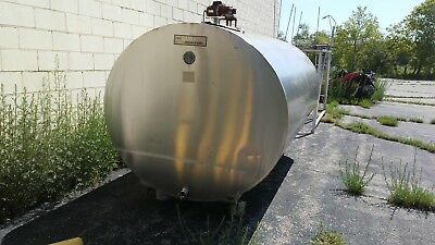Stainless Steel Tank 1500 Gal. Distillery Winery Cidery