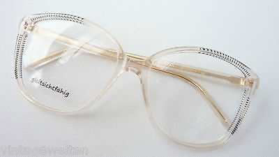 Brille Hochwertiges Markengestell Damen Silhouette 6155 Gold Rot Grösse L 55 Optiker 17 Augenoptik