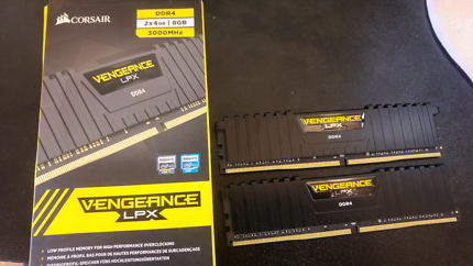 DDR4 2x4gb =8GB 3000mhz rrp $140